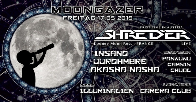 Party Flyer ○◐● MOONGAZER ●◑○ 17 May '19, 23:00