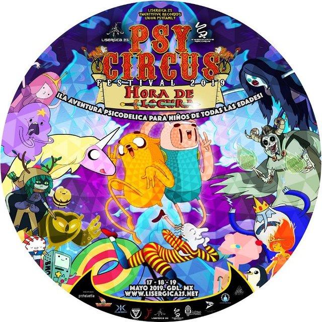 Party Flyer PSY Circus Festival 2019: ђ๏гค ๔є l๏ςยгค 17 May '19, 13:00