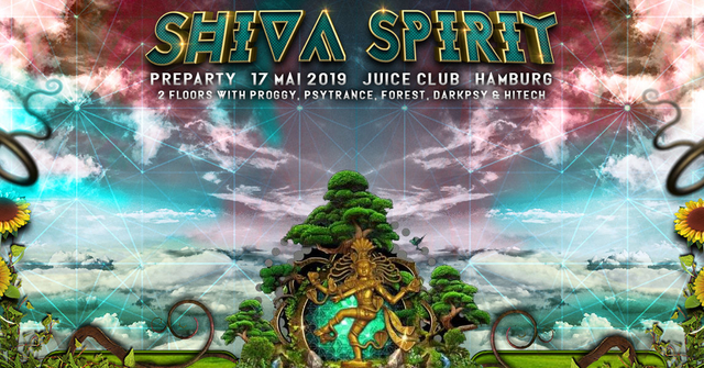Party Flyer TNS: Shiva Spirit Festival 2019 preparty with 2 floors 17 May '19, 23:00