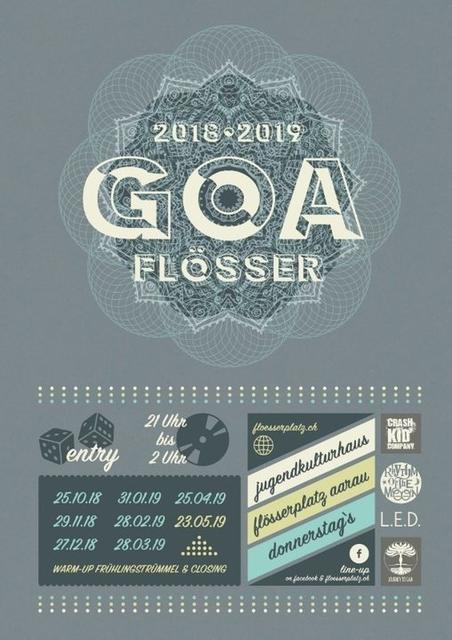 Party Flyer •♫*☆ gOaFlÖsSeR-Closing & TrÜmMeL- WarmUp 23 May '19, 21:00