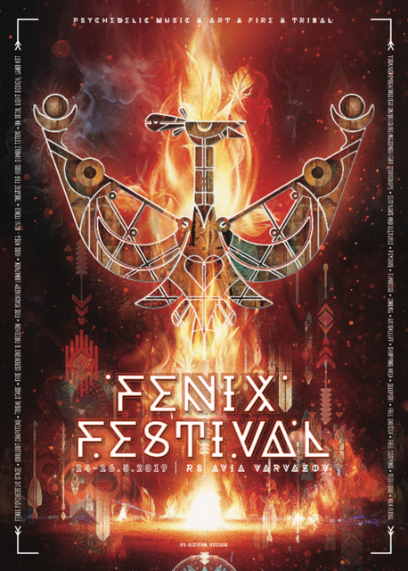 Party Flyer FENIX festival 2019 24 May '19, 20:00