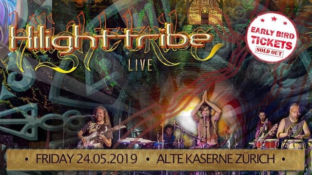 Party Flyer HILIGHT TRIBE 24 May '19, 22:00