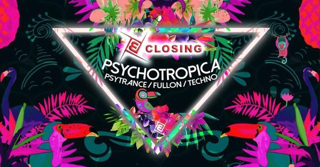 Party Flyer Psychotropica Closing Prog/Psy & Techno 24 May '19, 23:00