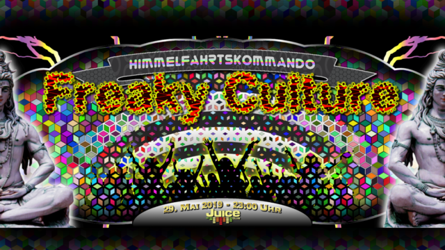 Freaky Culture 29 May '19, 23:00