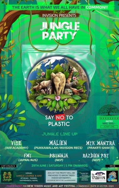 Jungle Party 29 Jun '19, 17:00
