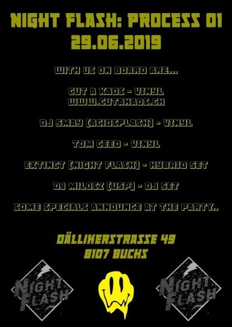 Nightflash Acid Rave process 01 29 Jun '19, 22:00