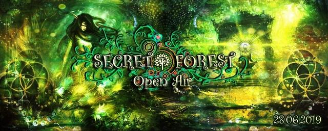 Party Flyer ๑ Secret Forest (Open Air) ๑ 28 Jun '19, 22:00