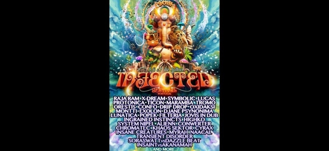 Infected Festival 5,6.&7 de Julho – ✾ by SpaceMusicDrops 5 Jul '19, 20:00