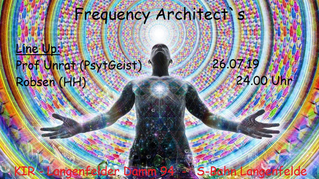 Party Flyer Frequency Architect`s 26 Jul '19, 23:30