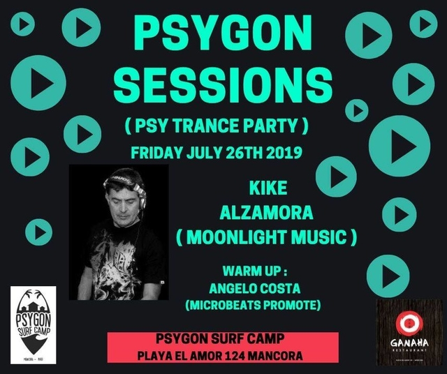 Party Flyer Psygon Sessions 26 Jul '19, 21:00