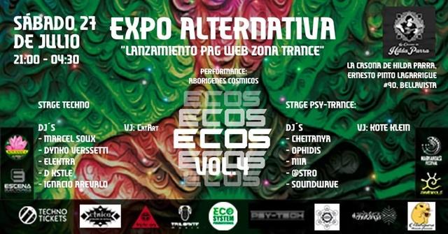 Party Flyer ECOS Vol 4 27 Jul '19, 21:00