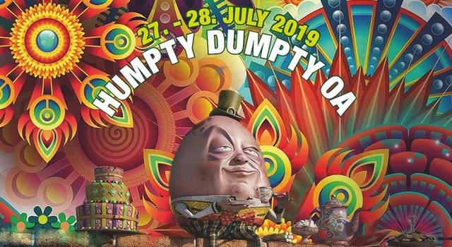 Party Flyer Humpty Dumpty Open Air 2019 27 Jul '19, 16:00