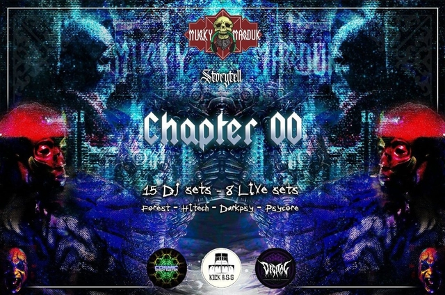 Party Flyer Murky Marduk - Chapter 00 2 Aug '19, 20:00