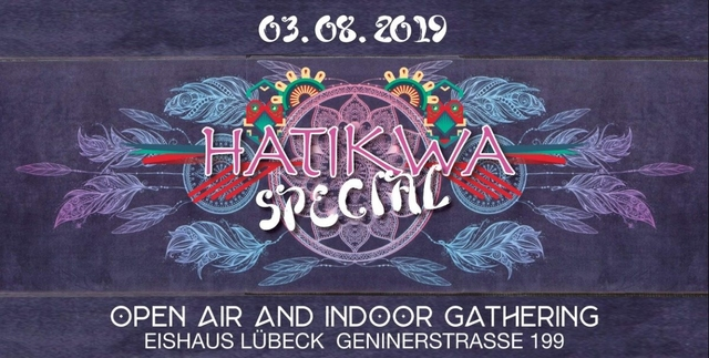 Party Flyer Hatikwa Special (Indoor/Outdoor) 3 Aug '19, 20:00