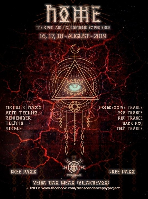 Party Flyer H.O.M.E 5.0 ( Open Air Psychedelic Experience) 16 Aug '19, 20:00