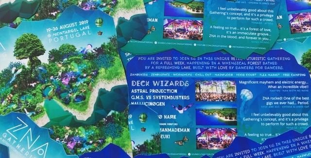 Party Flyer ZNA GATHERING 2019 19 Aug '19, 22:00
