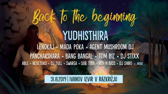 Party Flyer Back to the Beginning 31 Aug '19, 10:00