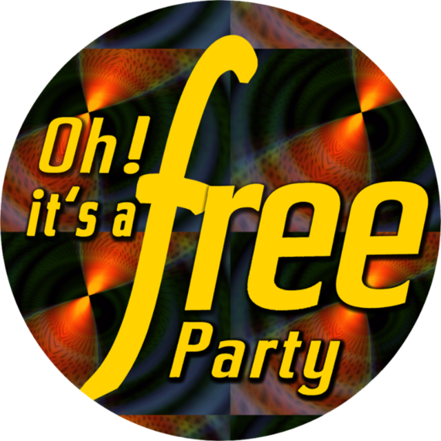 Party Flyer Oh it's a Free Party - 11 September - SCHNiTTWOCH / TeCHNo/TeKNO 11 Sep '19, 22:00