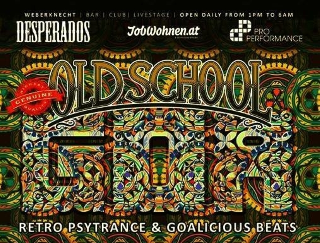 Party Flyer Oldschool Goa Party 14 Sep '19, 22:00