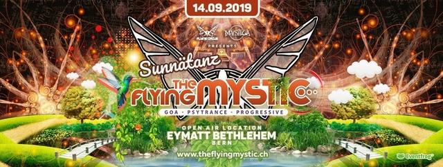 """Party Flyer The Flying Mystic """"Sunnätanz - Duss im Schuss"""" 14 Sep '19, 11:00"""