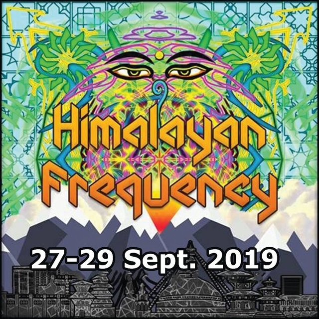 Party Flyer Himalayan Frequency Festival 2019 27 Sep '19, 17:00