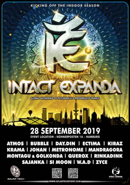 Party Flyer Intact Expanda 2019 28 Sep '19, 22:00