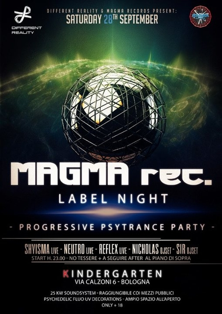 Party Flyer MAGMA Label Night + After 28 Sep '19, 23:00