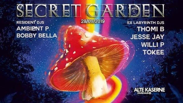 Party Flyer SECRET GARDEN 28 Sep '19, 23:00