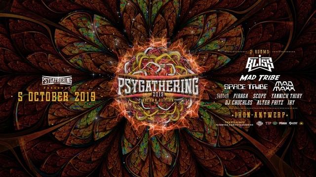 Party Flyer Psygathering Autumn edition 5 Oct '19, 23:00