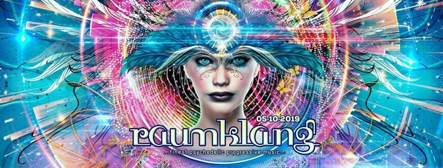 Party Flyer Raumklang 05.10.2019 - X-Tra, Zürich CANCELLED !!!!!!!!!!!!! 5 Oct '19, 21:00