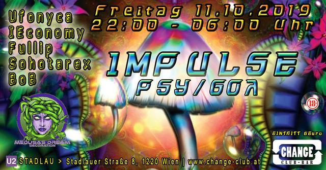 Party Flyer Impulse 11 Oct '19, 22:00