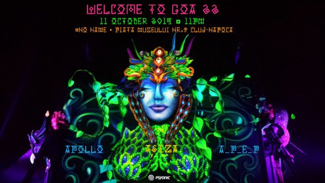 Party Flyer Welcome to GOA 22 11 Oct '19, 23:00