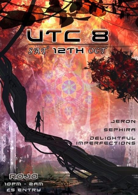 Party Flyer UTC 8 - Your next Psytrance Instalment 12 Oct '19, 22:00