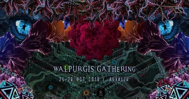 Magic Halloween Vol II ; WALPURGIS GATHERİNG 25 Oct '19, 17:30