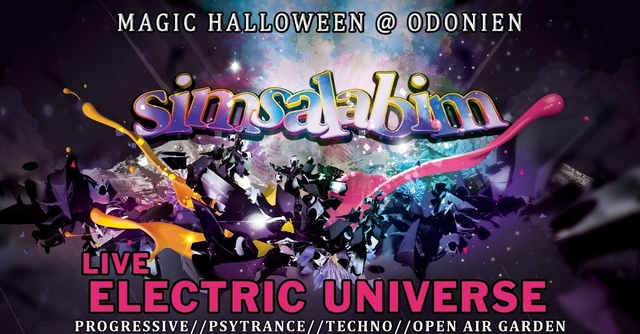 S*i*m*s*a*l*a*b*i*m* Magic Halloween / Electric Universe Live 31 Oct '19, 21:00