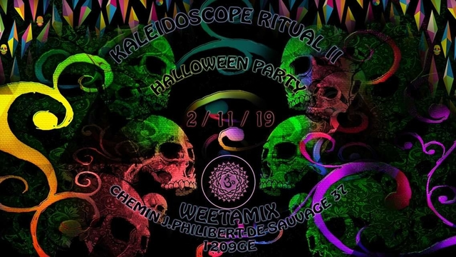 Party Flyer Kaleidoscope Ritual 2 2 Nov '19, 23:00
