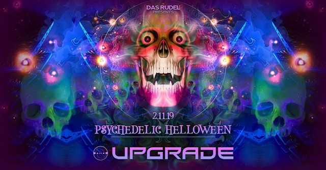 Party Flyer Psychedelic Helloween /w Upgrade Live 2 Nov '19, 23:00