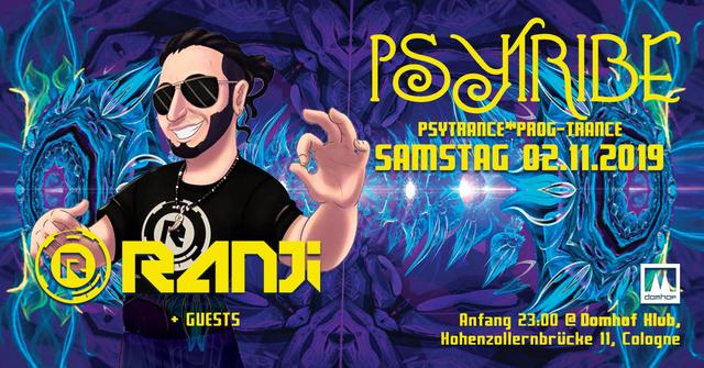 Party Flyer Psytribe mit Ranji 2 Nov '19, 23:00