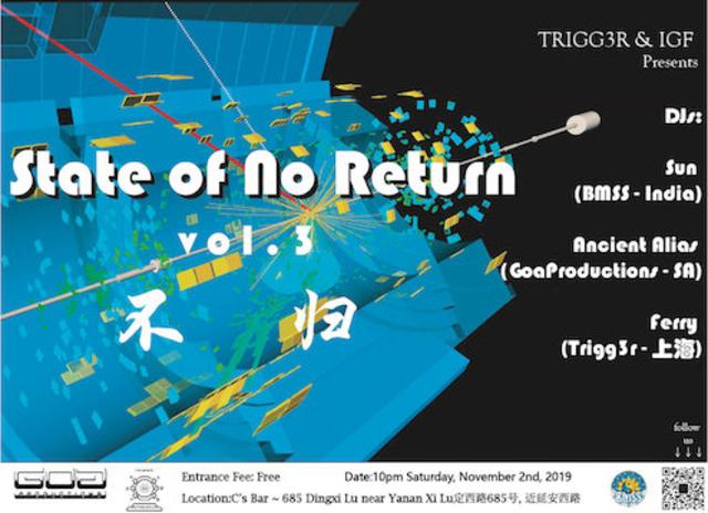 Party Flyer State of No Return Vol.3 2 Nov '19, 22:00