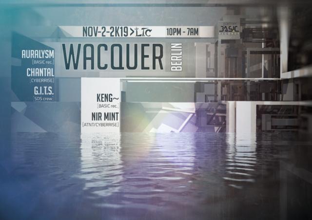 Party Flyer Wacquer 2 Nov '19, 22:30