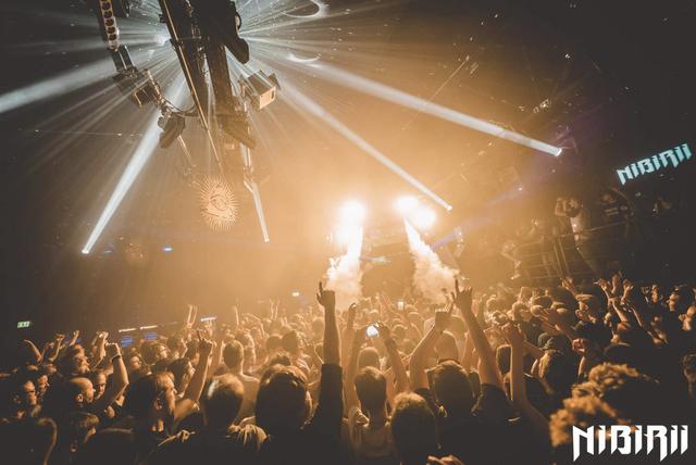 Party Flyer Nibirii XL: Ace Ventura, Captain Hook, Earthling / Friction, Turno uvm 8 Nov '19, 23:00