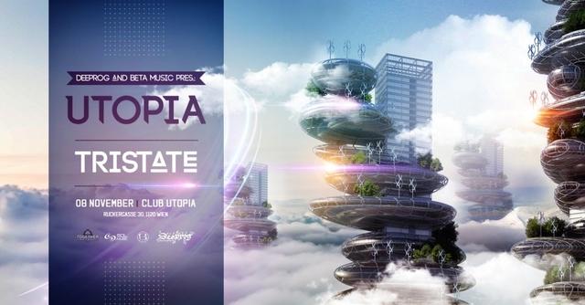 Party Flyer Utopia feat Tristate 8 Nov '19, 22:00