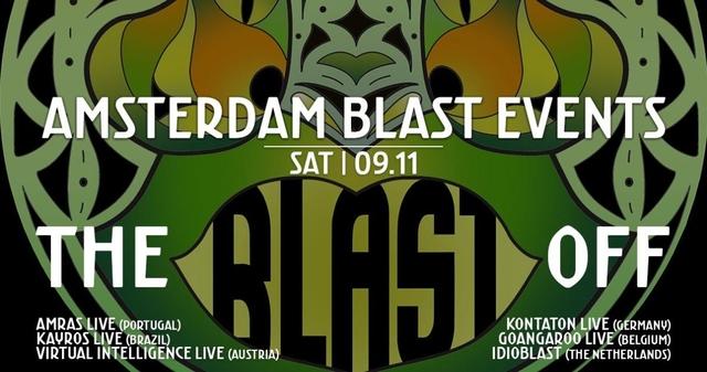 Party Flyer Amsterdam Blast Events: Blast Off 9 Nov '19, 22:00