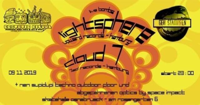 Party Flyer Ecstatic Ritual meets Geh Stampfen / Skatehall Osnabrück 9 Nov '19, 23:00