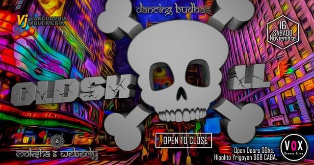 Party Flyer Dancing Budhas features Oldskool OTC 16 Nov '19, 23:30