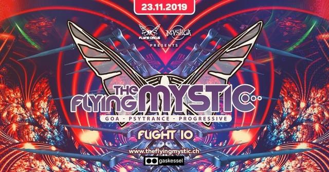 Party Flyer THE FLYING MYSTIC - Flight 10 - 23 Nov '19, 22:00