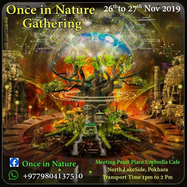 Party Flyer Once in nature 26 Nov '19, 11:00