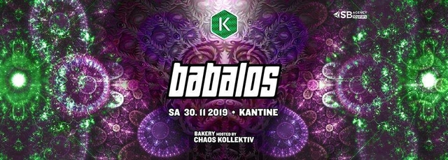 Babalos · Psylife · Kantine Salzburg 30 Nov '19, 22:00