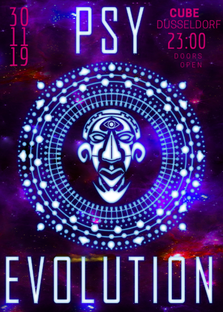 Party Flyer PsyEvolution 30 Nov '19, 23:00