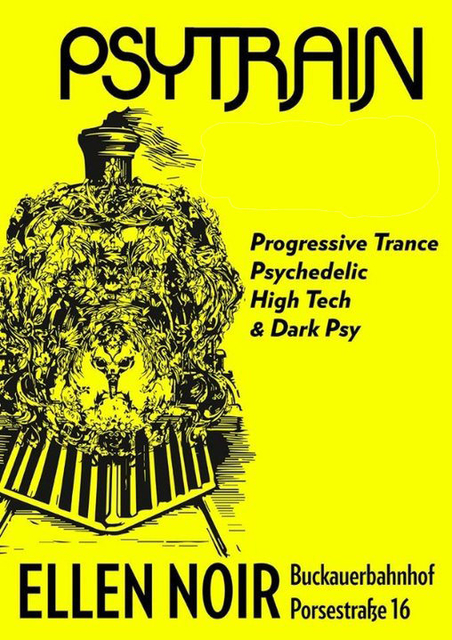 Party Flyer PSYTRAIN 30 Nov '19, 23:00